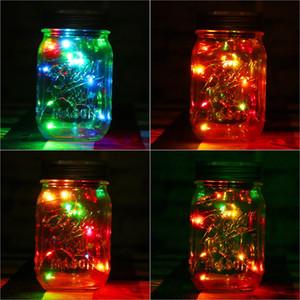 1 stück Solar Einmachglas Fairy Light Mit Farbwechsel oder Weiße LED für Gläser Party Decor Solar Einmachglas Deckel Einsatz