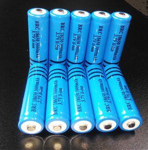 أعلى جودة بطارية قابلة للشحن 18650 3000 مللي أمبير 3.7 فولت brc بطارية ليثيوم أيون 18650 3000 مللي أمبير ل مضيا الشعلة الليزر