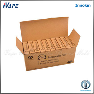 100% Original Innokin iTaste iSub Sub ohm Coil Head Innokin iTaste iSub Sub Tanks Subohm Replaement Bobinas 0.2ohm 0.5ohm 2.0ohm