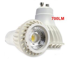 Lampade spot COB a LED GU10 Lampara 7W Bombillas per la Galleria di interni moderni Galleria Decorazione di illuminazione Decorazione bianco caldo Bianco freddo ROSSO CE