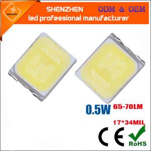 2700-6000K SMD2835 LED Chip 0.5 W 3V 150mA 65-70lm SMT Surface Mount LED Chip DIY Light Emission Diode lamp SMD2835 0.5 wed
