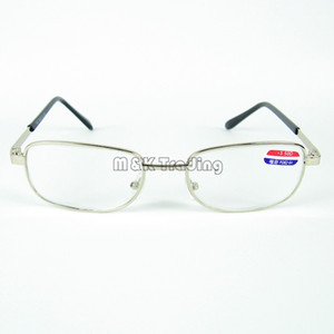 Gemeinsame Metall Lesebrille Full-Frame-Weitsichtigkeit Brillen für ältere Menschen Gläser Linsen Unisex Design 20st