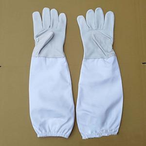 2 пара овчины перчатки с защитными рукавами вентилируемые профессиональный предотвратить пчелиное жало для пчеловодства пчеловод перчатки