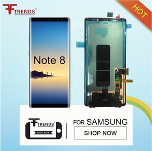 Para la nota 8 LCD original con la pantalla táctil de reemplazo digitalizador Asamblea completa N9500 N950F N950N N950U N950W N950FD