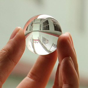 FS Hot Asian Quartz White Clear Bola de Curación de Cristal Artificial Esfera 1 unids order $ 18no track