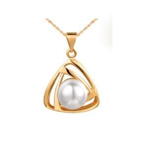 Vintage silver pearl Pendant Necklaces Sweater chain Luxury Stud pearl Ring earrings wedding dress accessories worn jewelry sets
