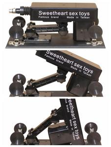 섹스 머신의 자동 위로의 에뮬레이션 성기 기관총 플러그 + 진동 + 손바닥 메시지