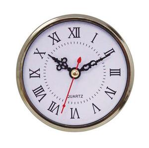 حركة التصميم الجديد ضربات 90mm البسيطة إدراج مدار الساعة ووتش كوارتز اليابانية الذهب Plasatic صالح UP ساعة إدراج الأرقام الرومانية اكسسوارات ساعات