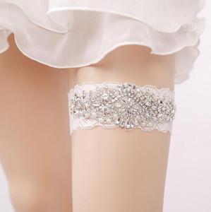 신부 Garters 백색과 밝은 파란색 서쪽 작풍 자유 크기 탄성 주문을 받아서 만들어 질 수있다 신부 부속품 뜨거운 판매