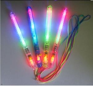 100pcs 많이 뜨거운 판매! 패션 파티 용품 -LED 깜박이 지팡이 참신 장난감, 글로 스틱, 아이 장난감