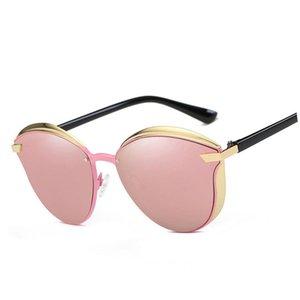 Новые солнцезащитные очки, металлический цвет очки носить рамка ретро очки комфортно поляризованный круглый Удобная и леди красочного 6 sunglasse Maje