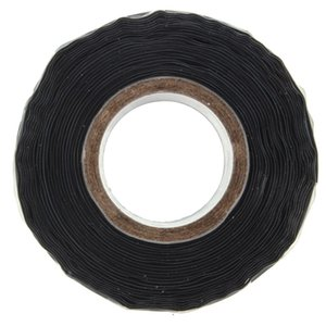 New Arrival Black Silicone Performance Repair Tape Bonding Rescue Self Fusing Wire Hose Tape order<$18no track