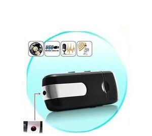 U8 قرص USB قرص كاميرا مصغرة DVR U8 Dovision Detection USB Flash Drive Mini Camera U قرص فيديو رقمي مسجل يدعم بطاقة TF