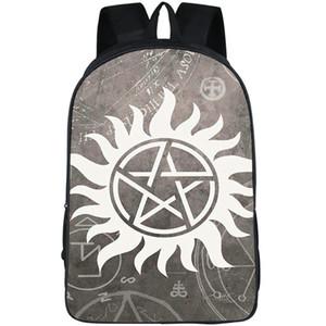 Supernatural Rucksack Dawn of Darkness Daypack Schultasche für die Fernsehshow TV-Spielrucksack Sportschultasche Outdoor-Tagesrucksack