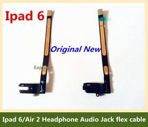 Para ipad 6 Air 2 fone de ouvido de áudio Jack flex cabo parte substituição fone de ouvido original novo preto branco para ipad air 2 teste passado