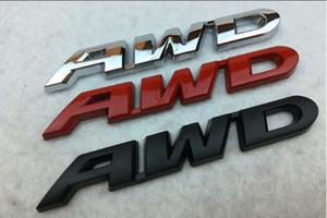 جديد معدن CRV AWD شعار سيارة إلكتروني مطلي نشرت ملصقات السيارات 3D شخصية