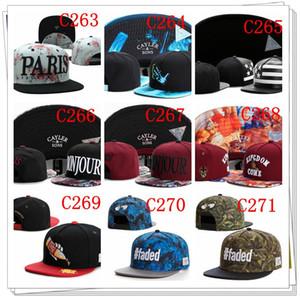Cayler and Sons chapeaux Snapback Hip Hop nouvelle mode snapback chapeaux réglables pour les hommes ou les femmes mélange ordre livraison gratuite par DHL
