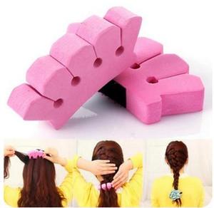 Hair Braider Hair Clip Trenzador De Pelo Haire Stili Moda Styling Hair Style Intrecciato Spugna fai da te