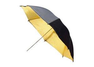 "Wholesale FOTGA 33""83cm Photo Studio Flash Light Reflector Reflective Black Gold Golden Umbrella"