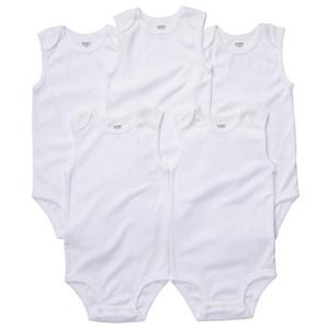Bebek Tulum Takım Onesies Kolsuz leotard tırmanma clothes100% pamuk erkek bebek kız Üçgen Romper pamuk uzun kollu