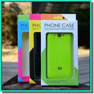 Imballaggio scatola di carta di imballaggio vuoto universale per iphone 6 7plus Iphone x Samsung S6 S5 Nota 4 3