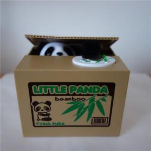 Автоматизированная panda сберегательная монета Банка игрушка panda money box озорство сберегательная коробка panda coin bank больше удовольствия, чтобы играть в нее