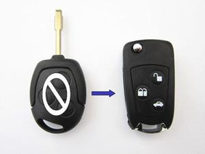 Kesilmemiş Boş Kapak Katlama Anahtar Shell için Ford Focus Mondeo Fiesta Focus 3 Düğmeler anahtar kabuk