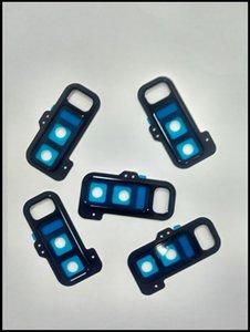 Original novo lente de vidro de volta traseira câmera principal anel tampa da lente com adesivo de cola para samsung galaxy note 8 n950 / sm-note8 frete grátis