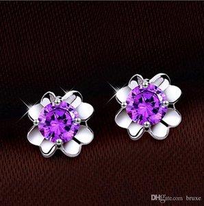 Orecchini Clover di alta qualità piccoli orecchini femminili argento moda orecchini in argento orecchini orecchio versione coreana anallergica