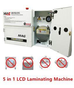 OCA OMAG Glass Lens 터치 스크린 LCD 5 in 1 Plate Type 라미네이팅 머신 수리 도구 No Bubble 필요 없음 Vacuum Pump Air Compressor Mold