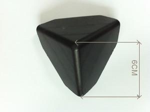 البلاستيك الصلب حامي الزاوية أسود اللون جودة عالية البلاستيك حافة الزاوية حماة حافة حماة حافة الحرس البلاستيك حقن القالب الذرة