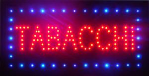 Customized led TABACCHI sign led TABACCHI sign led TABACCHI semi-outdoor