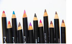 envío gratis - NUEVOS lápices de cejas de maquillaje caliente EYE / LIP LINER 12 diferentes colores (36pcs / lot)