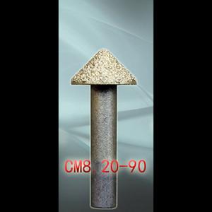 LOXA Carving Marble Vacuum soldadas ferramenta de diamante, 20pcs / lot Granite Milling Cutters, Entalhe 3D Relief CNC bit ferramentas de pedra gravura