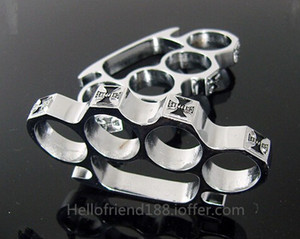 QTY CHOPPER CHROME BRUC KNUCKLEDUSTER BUCKLE Produits de sécurité