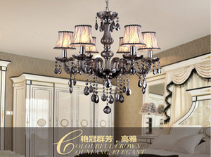 European Style  candle chandelier. Dining room chandelier Villa chandeliers E14 lamp holder elegant hanging lights