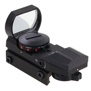 Scope olografico da 11mm o 20mm Picatinny Weaver Rail 4 Tipo Reticle Red Green Sight Scope