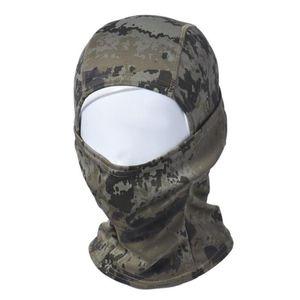 Оптовая торговля-камуфляж армия Велоспорт мотоцикл Cap Балаклава шляпы полный Маска открытый спорт езда маска