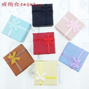 Fashion Ring Earrings Casket Bracelet Trinket Jewelry Boxes Lover Gift Wedding Favor Bag Packing Case Holder Christmas Gifts Boxes ZJ-T11