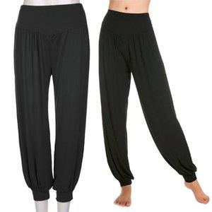 Toptan-Kadınlar Rahat Harem Gevşek Uzun Pantolon Belly Dance Casual Geniş Pantolon ücretsiz kargo