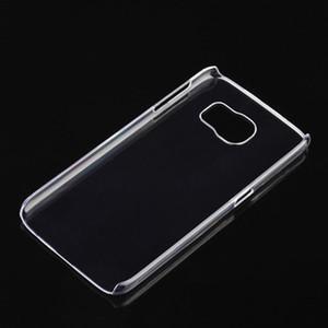 Para Iphone XR XS 7 8 Transparente Crystal Clear PC carcasa de plástico duro Shell Ultra delgado caso de la cubierta delgada para Samsung Galaxy S7 S8 plus