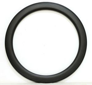 Frete grátis Carbono Único Rim 700c 60mm Profundidade 25mm Largura rodas De Carbono Clincher / Tubular Road Bike Aro 3 k acabamento fosco
