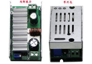 DC DC Boost Conversor 6-35V para 7-55V 200W Máximo Módulo ajustável de tensão máxima