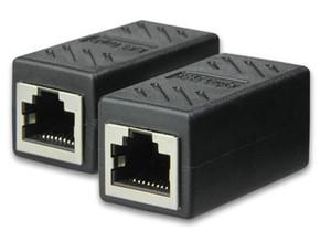 Yüksek kaliteli CAT6 RJ45 Kadın Kadın Lan Konnektör Ethernet Ağ Kablosu Uzatma Adaptörü 300 adet / grup
