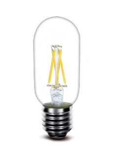 2017 جديد led لمبة الشعيرة t45 2 واط 4 واط 110lm / w مباشرة مصنع الجملة انخفاض السعر جودة عالية الصمام مصباح fialment