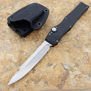 """Tanto tek kenar Taktik bıçak (4.6 """"Saten) 150 pürüzsüz eylem Alüminyum kolu au bıçak"""