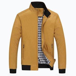 Осень-2016 Мужчины Checker Верхней Одежды Пальто Пальто Куртка Zip Up Тренч Пальто Куртки Повседневная Мода Куртка Новое Прибытие