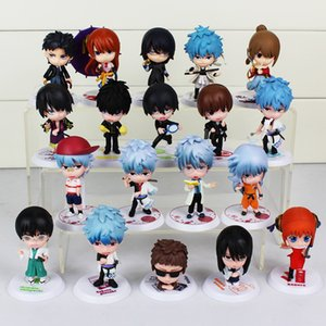 Argento Soul GINTAMA Figure Sakata Gintoki Katsura Kotarou Hijikata Toushirou Takasugi Shinsuke Okita Sougo PVC Figure Toy