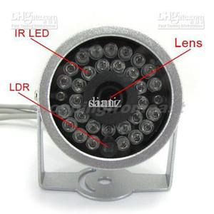 فيديو أغنية IR الأشعة تحت الحمراء كاميرا 30 LED يوم / ليلة CCTV الأمن كاميرا مراقبة Wried