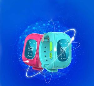 GPS LCD Smart Kid Безопасные часы SOS Call Location Finder Locator Tracker для детей Анти-потерянный монитор наручные часы